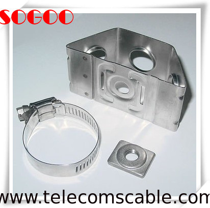 3 Way Wire Cable Clamp Tower Standoff Hangers Adapter 304SS Stainless Steel supplier
