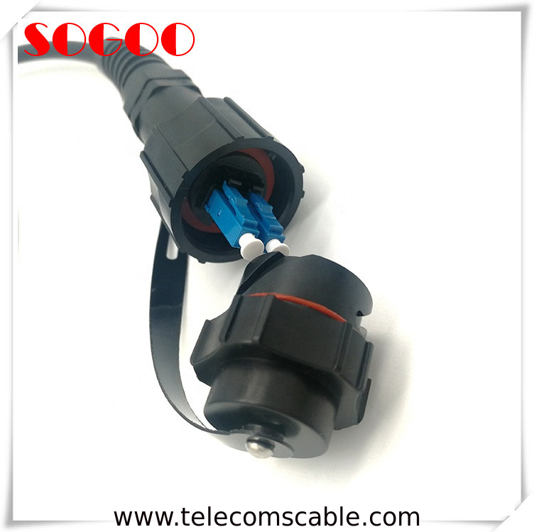 ODVA Connector CPRI Fiber Cable Duplex LC FTTA Fiber Cable Customized Length supplier