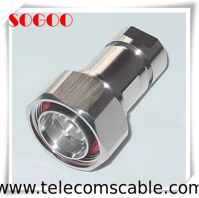 "Coaxial Male Female Connector 7/16 DIN For 1/2"" Superflexible Feeder supplier"
