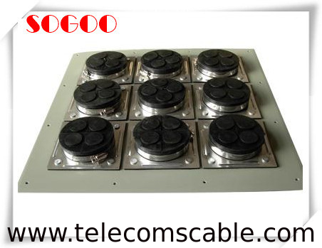 "Small Size 6 Hole Electrical Connector Rubber Boots For 1/2"" Feeder Cable supplier"