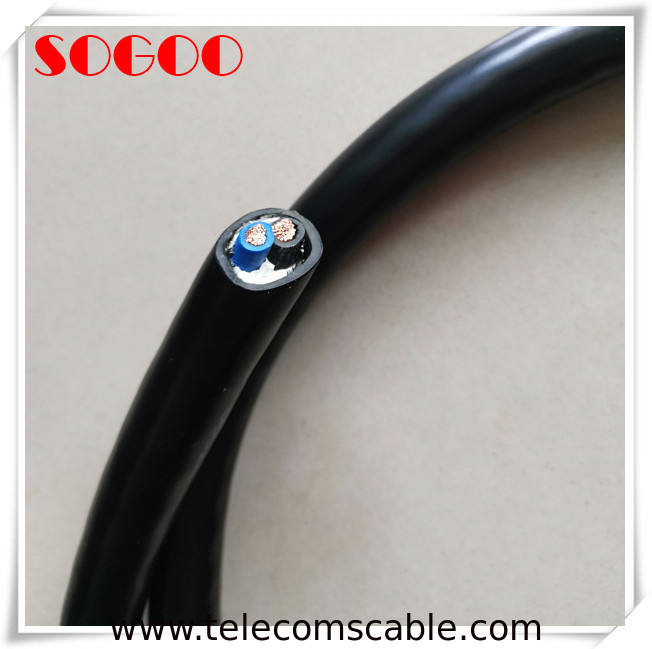Panyu 2 X 6mm2 Base Station Cable Shield Cable Za-Rvvp 300v / 300v IEC 60332-1 supplier