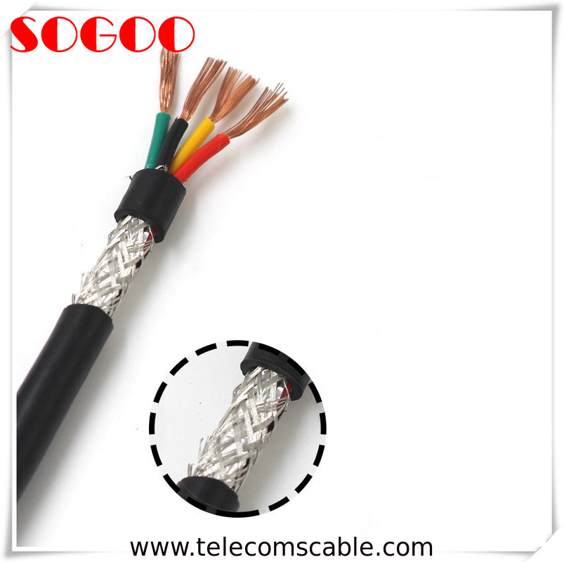 Fixed Installation RRU Power Cable Halogen Free Cable 4x2.5 Mm² High Precision supplier