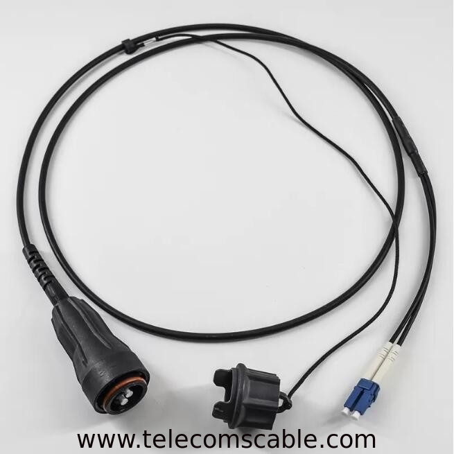 Ericsson Waterproof PDLC DLC CPRI Fiber Optical Patch Cord FULLAXS LC Duplex Armoured supplier
