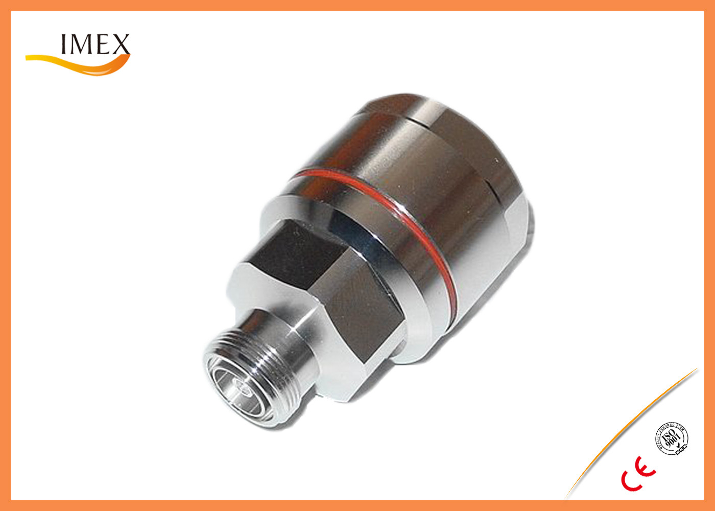 """7/16 DIN Female connector for 1-5/8"""" RF coaxial foam feeder cable SMA jack plug connector for RG59 RG213 RG316 cable"""
