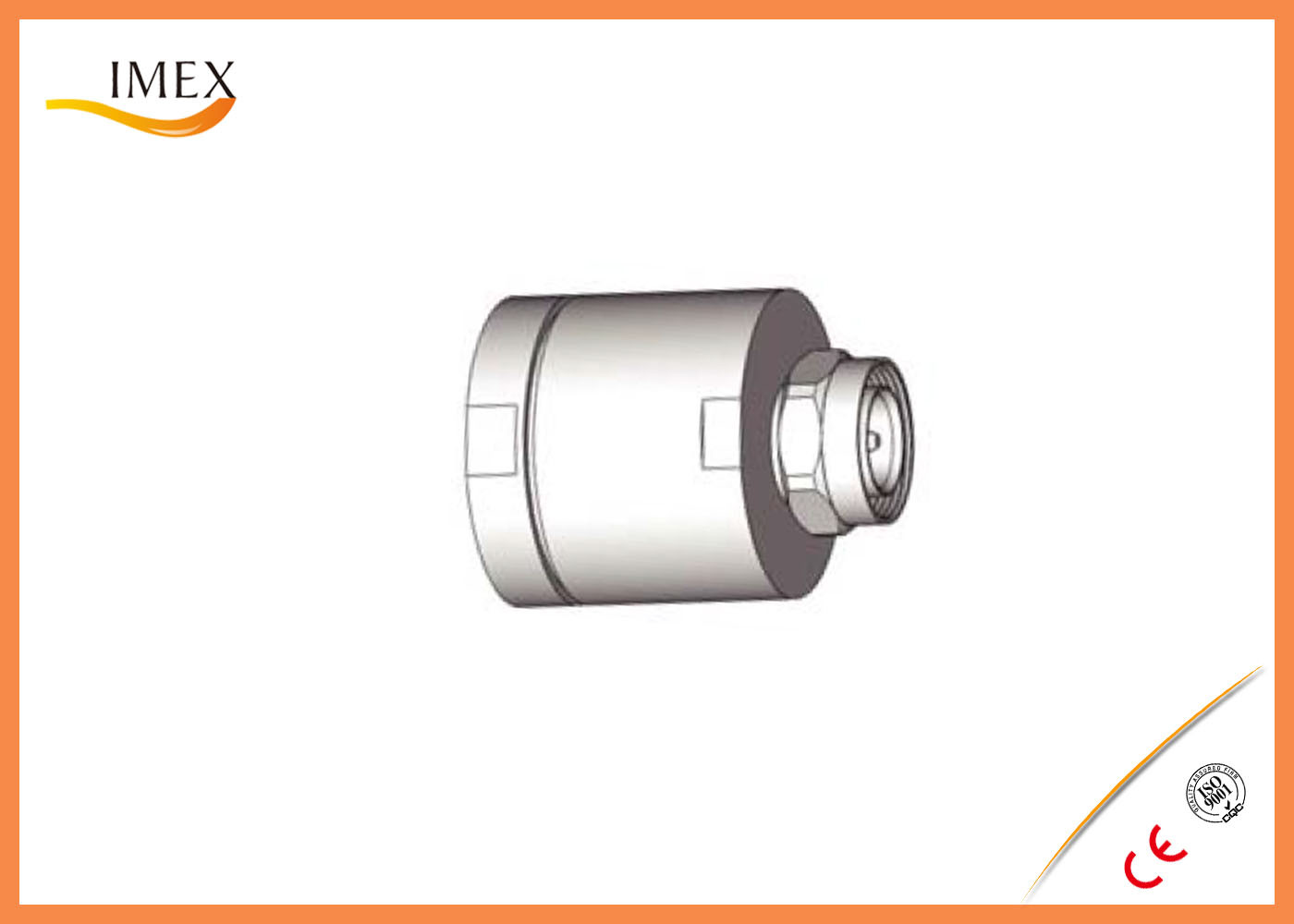 "RF 1-5/8"" Feeder cable connector High quality waterproof IP68 rf connector, N DIN connector male female"