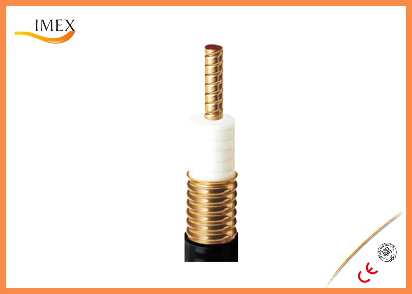 Wire Railway Annular RF Feeder Cable Broadband Type 2.75GHz ...