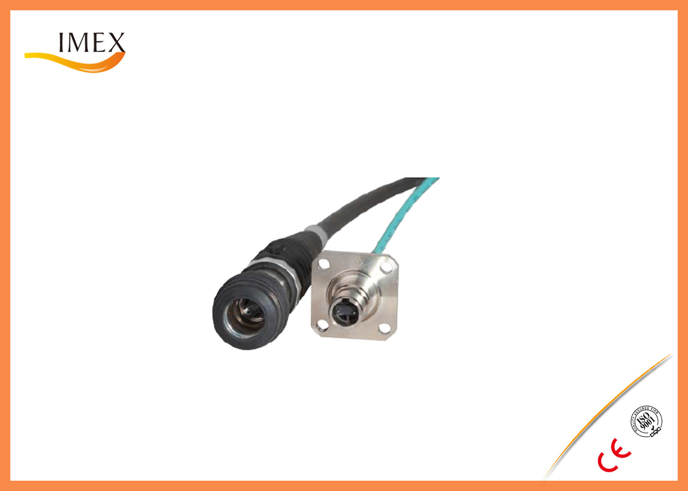 Dustproof RF Cable Assemblies Outdoor Wire Connector Plugs ...