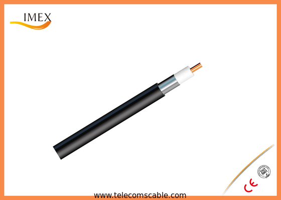 "1/2"" Flexible RF Coaxial Cable FXL-540 With Smoothwall Aluminum Black PE jacket"