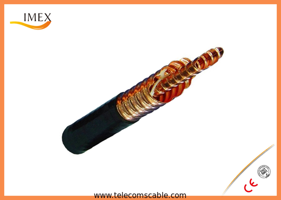 "Helix Corrugated Copper Tube Air Dielectric Coaxial Cable 50-80 3-1/8"" For Radio Transfer"