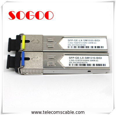 10G/1310nm SM Optical Module 1.4km SFP Optical Transceiver For Huawei ZTE