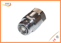 "Low PIM DIN-type male female 7/8"" feeder cable connector/RF DIN connector for 7/8"" feeder cable"