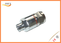 "DIN Female straight connector for 1-1/4"" RF Coaxial foamcable feeder 4.3-10 coaxial connector 7/8"" RF feeder cable"