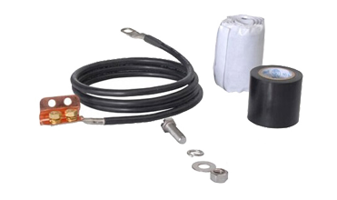 Shielding Coaxial Cable Grounding Kit Based On BV-16 0.8M - 1M For Lightning Protection