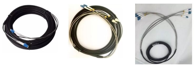 Single Mode Fiber Optic Patch Cord PDLC -LC/UPC Duplex Armored Fiber Optic Patch Cable 0